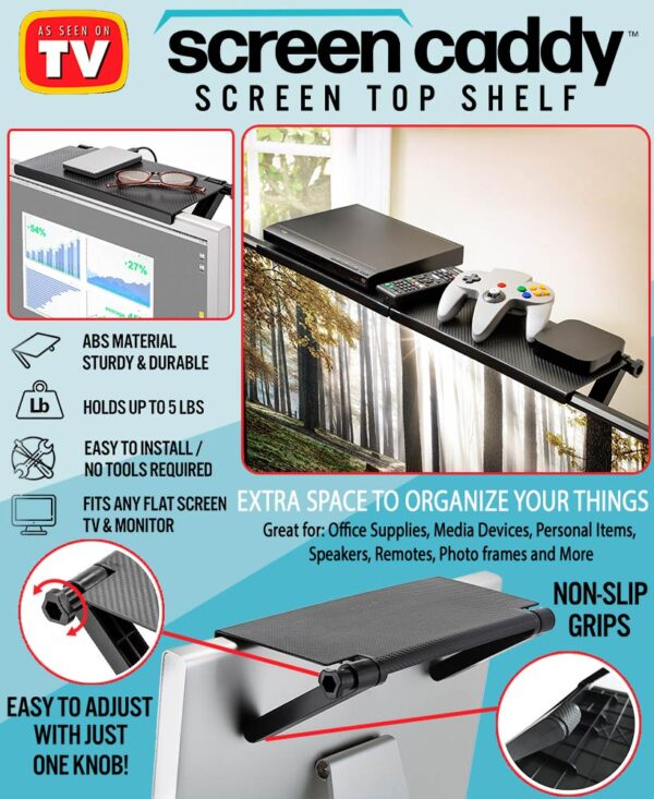 Αντιολισθητικό βοηθητικό ραφάκι τηλεόρασης - Screen Top Shelf OEM