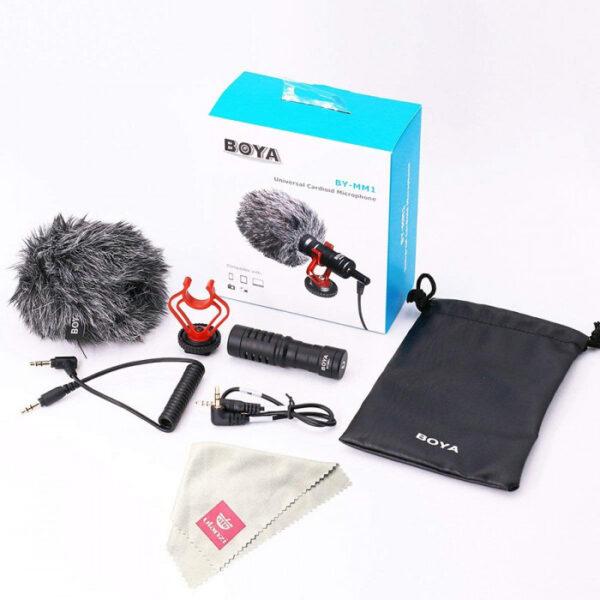 Μικρόφωνο video Boya BY-MM1 για τοποθέτηση σε DSLR