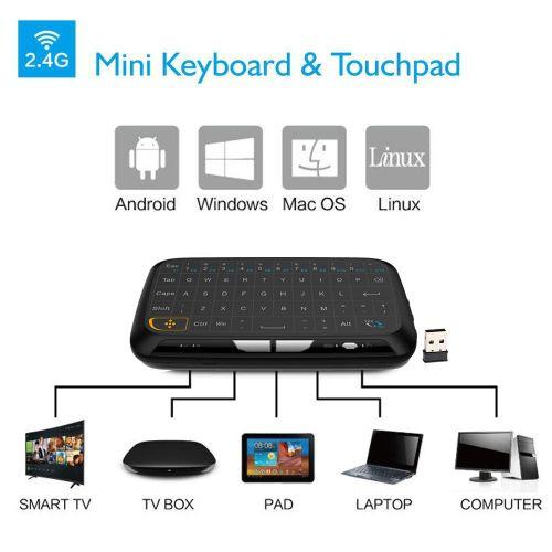 Mini ασύρματο πληκτρολόγιο αφής H18 - mini wireless touchpad keyboard