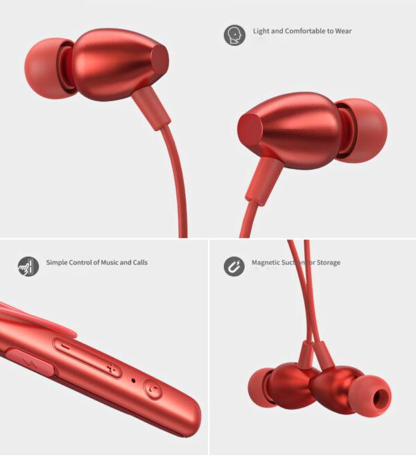 Ασύρματο Bluetooth ακουστικό Neckband REMAX RB-S16