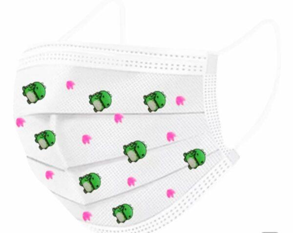 Παιδικές μάσκες προστασίας μιας χρήσης 3ply σε 5 διαφορετικά σχέδια 50τμχ – ΟΕΜ