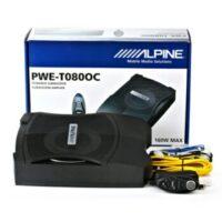 Alpine PWE-T080OC Αυτοενισχυόμενο μπάσο για κάτω από θέση 160W