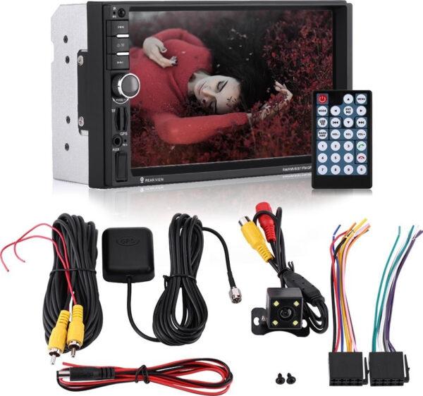 Ηχοσύστημα Αυτοκινήτου MP5 2DIN με TFT HD οθόνη αφής 7″, GPS, BT, FM και Χειριστήριο – OEM 7020G