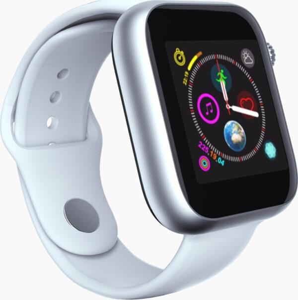 Smart watch Z6 Λευκό - Ρολόι Κινητό Τηλέφωνο Sim Handsfree με Οθόνη Αφής, Αισθητήρα Κίνησης, World Clock, Κάμερα, Βηματομετρητή, Μέτρηση Ύπνου, Facebook,