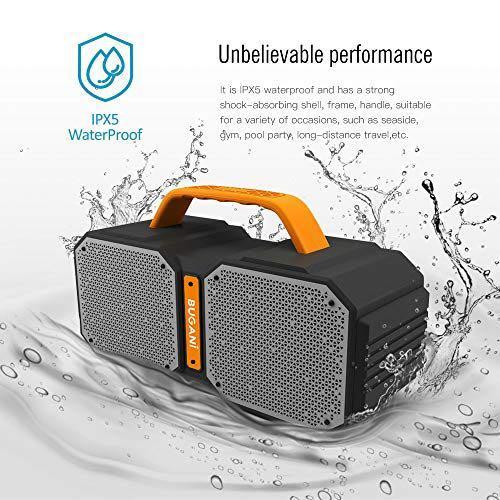 JONTER M83-Επαναφορτιζόμενο ηχείο Bluetooth αδιάβροχο IPX5 Super Bass