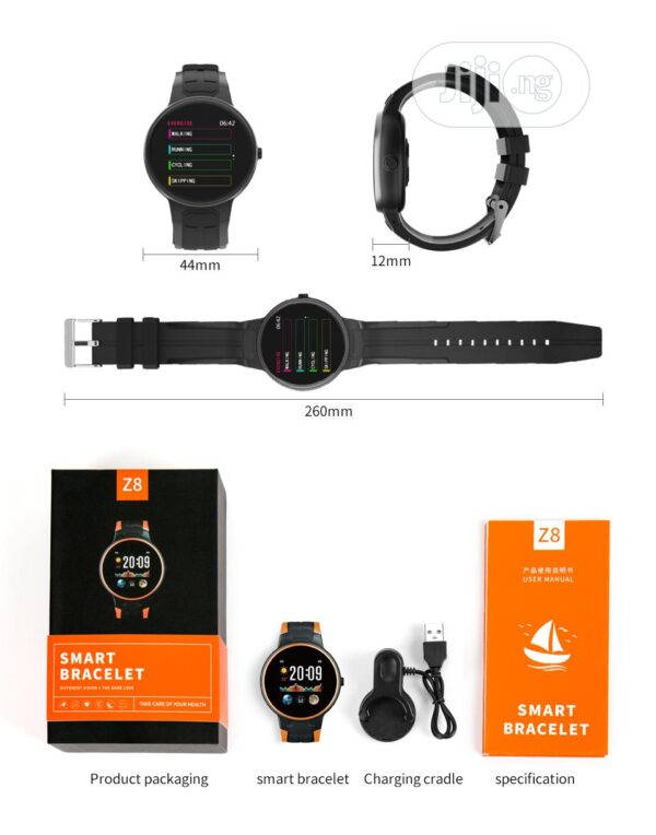 Smart watch-Activity tracker Z8 Πράσινο