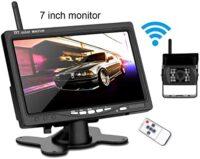 Σετ ασύρματη κάμερα οπισθοπορείας και μόνιτορ 7'' - Wireless backup camera and monitor kit