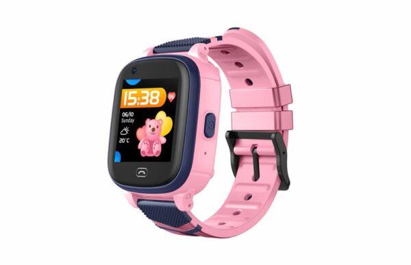 Παιδικό αδιάβροχο smartwatch A60 με δυνατότητα video κλήσης και κουμπί SOS - ΡΟΖ