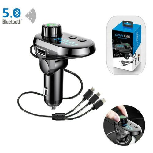 Ασύρματος πομπός FM Player MP3 Q15 με λειτουργία Bluetooth