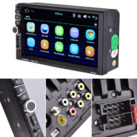 2Din Car Radio Multimedia Player 7026GM 7'' GPS, Bluetooth MP4 - MP5 Mirror Link Rear View Camera DVR Audio Stereo