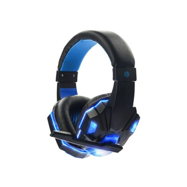 Ακουστικά SOYTO gaming headset stereo headphones with microphone LED light SY850MV - Blue