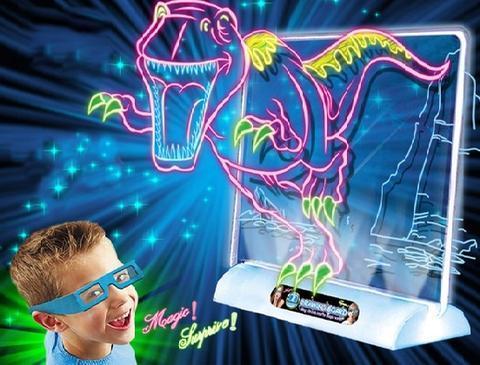 Πίνακας ζωγραφικής για 3D σχέδια-Magic 3d Drawing Board