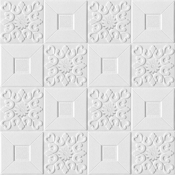 Τρισδιάστατα αυτοκόλλητα τοίχου με ανάγλυφη ταπετσαρία