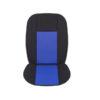 Πλατοκαθίσματα αυτοκινήτου Trendy ζευγάρι 2τμχ μπροστινά μαύρο-μπλε