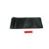 Κάλυμμα τιμονιού αυτοκινήτου δερματίνη ραφτό μαύρο-κόκκινο medium 38cm