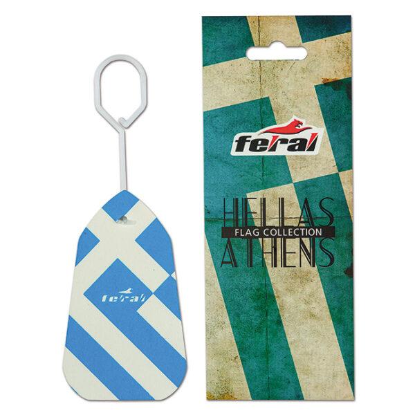 Αρωματικό αυτοκινήτου κρεμαστό feral flag collection Greece