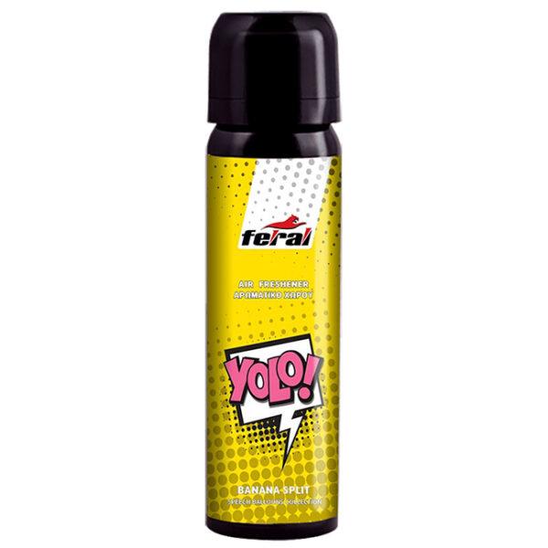 Αρωματικό αυτοκινήτου spray feral speech collection yolo