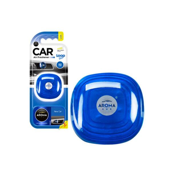 Αρωματικό αυτοκινήτου κρεμαστό aroma loop gel new car