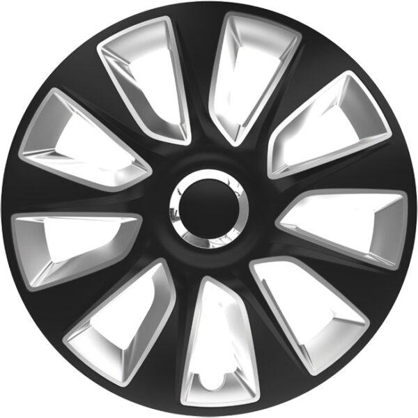 Τάσια αυτοκινήτου stratos 118319 black & silver rc 15''