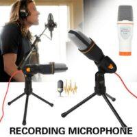 Πυκνωτικό μικρόφωνο με τρίποδο condenser microphone-SF-666