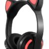 Ασύρματα bluetooth ακουστικά Cat Ears με μικρόφωνο - ZW028