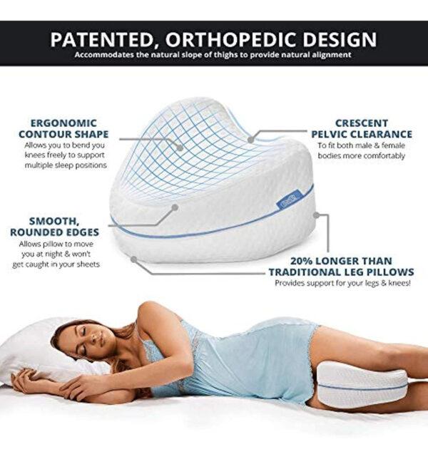 Ανατομικό μαξιλάρι ύπνου - Memory Foam Leg Pillow OEM