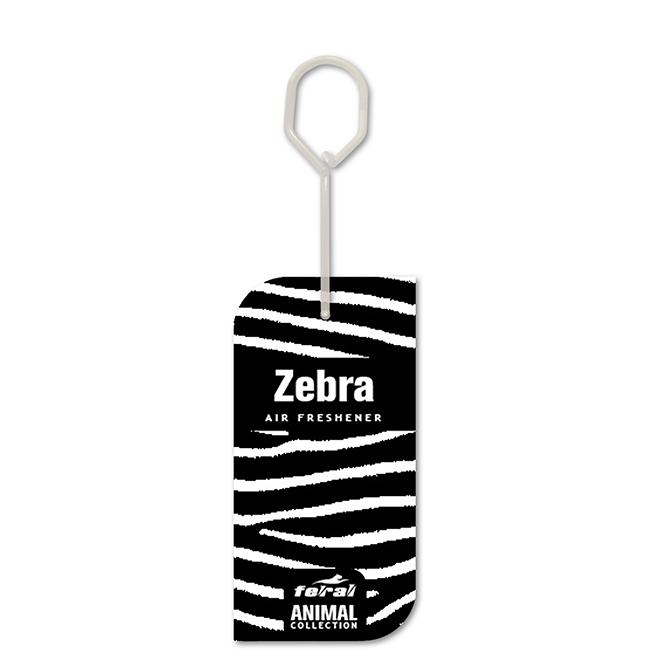 Άρωμα αυτοκινήτου κρεμαστό feral animal collection zebra